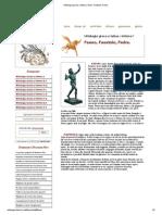 Mitologia greca e latina - Fauno, Faustolo, Fedra.pdf