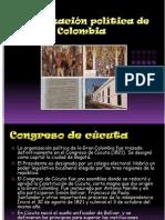 Organización política de la Gran Colombia