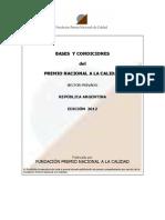 PNC 2012-Bases y Condiciones