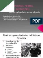 Tecnicas y Procedimientos Del Sistema Toyotista