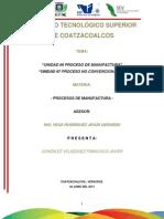Procesos de Nanufactura de Amaka Unidad 6,7