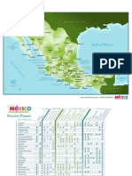 Mexico Map Planner