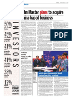 TheSun 2009-07-29 Page14 John Master Plans to Acquire China-based Business
