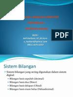 PERTEMUAN I - sistem bilangan.ppt