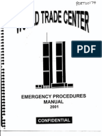 NY B30 WTC Emergency Procedures Manual 2001 Fdr- Entire Contents- Manual 262