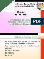Clase 3 - Medidas de Tendencia Central y Dispersion