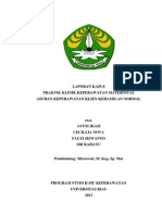 LK PKK Mater Kehamilan Normal