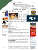 SiteBarra » Conheça o cortador a disco TS 420 STHIL encara fácil os mais duros desafios