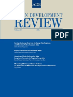 Asian Development Review - Volume 22, Number 2