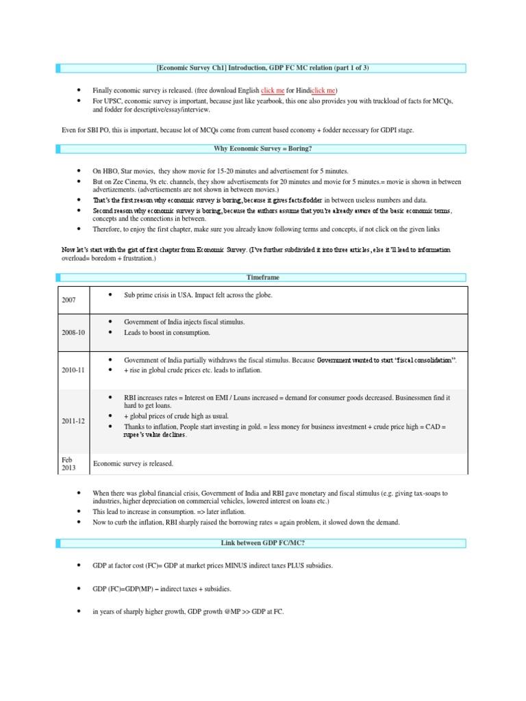 Eco Survey Mrunaldocx Apprenticeship Inflation