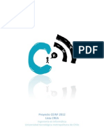 Programa Lista Crea CEINF 2012