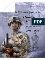 US Army Study of the Human Dimension in the Future