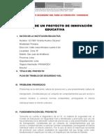 Formato de proyecto de innovación SV