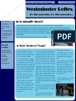 parents newsletter issue 1