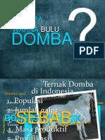POLA WARNA BULU DOMBA LOKAL DAN KOMPOSIT DI INDONESIA