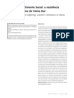Violência e Sofrimento Social-A resistencia feminina na obra de Veena
