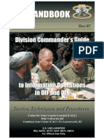 US Army Division Commander's Guide to Information Operations