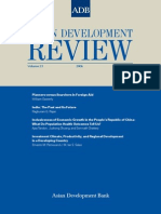 Asian Development Review - Volume 23, Number 2