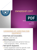 Ownership Cost