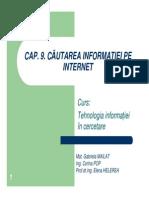 Cap9 Cautarea Informatiei Pe Internet TIC 2010