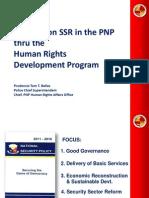 Presentasyon ng Pambansang Pulisya ng Pilipinas (PNP) sa Kapihan sa Karapatang Pantao 2013