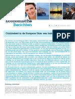 Economische Berichten - Europees crisisbeleid