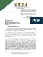 Oficio a La CA Directira de Empresas Del MD - 24OCT2013