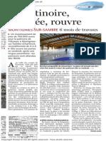 Le Soir - La Patinoire rénovée, rouvre - 25.10.13