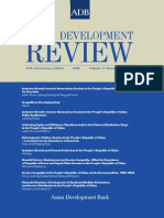 Asian Development Review - Volume 25, Numbers 1 and 2