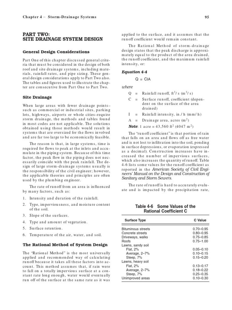 sc 1 st  Scribd & storm calculation.pdf | Surface Runoff | Storm Drain