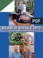 BILANCIO SOCIALE 2012 SDB ONLUS