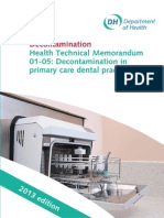 HTM 01-05 - Decontamination in Primary Care Dental Practices