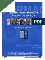 CENTRO DE FORMACIÓN ON LINE DE LICEUS