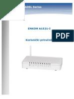 Enkom A1521-I - upute za korištenje