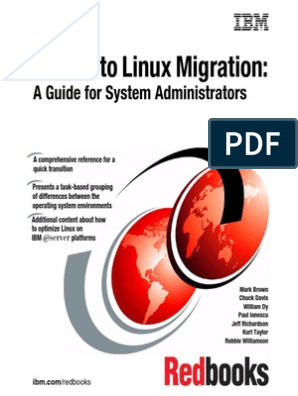 Solaris To Linux Migration A Guide For System Administrators
