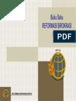 Cover Buku Saku Reformasi Birokrasi BPN RI
