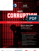 ASLI Anti Corruption 2009