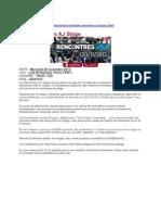 Le Parisien étudiant - Rencontres AJ Stage 2ème édition
