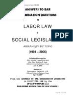 2573158 Laborsocial Legislation QA
