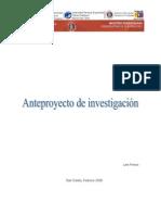 Anteproyecto de investigación(1)