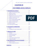 2B-Calcul Vectoriel Dans l'Espace