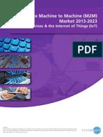 The Machine to Machine (M2M) Market 2013-2023.pdf