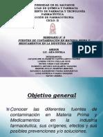 CONTAMINACION DE MATERIA PRIMA IND FARMACEUTICA 100.pptx