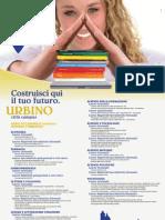 """Università degli Studi di Urbino """"Carlo Bo"""" 2009/2010 Manifesto degli Studi"""