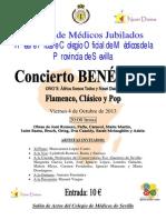 Cartel Concierto Benefico Definitivo (13!09!2013)