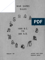 Ancients rules