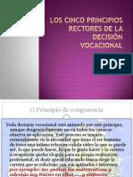 Los cinco principios rectores de la decisión vocacional