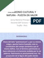 Patrimonio Cultural y Natura Puesta en Valor