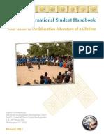 Peace Corps Masters International Student Handbook 2013