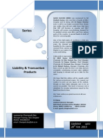 Quick Success Series Liability & Transaction Products 28022013